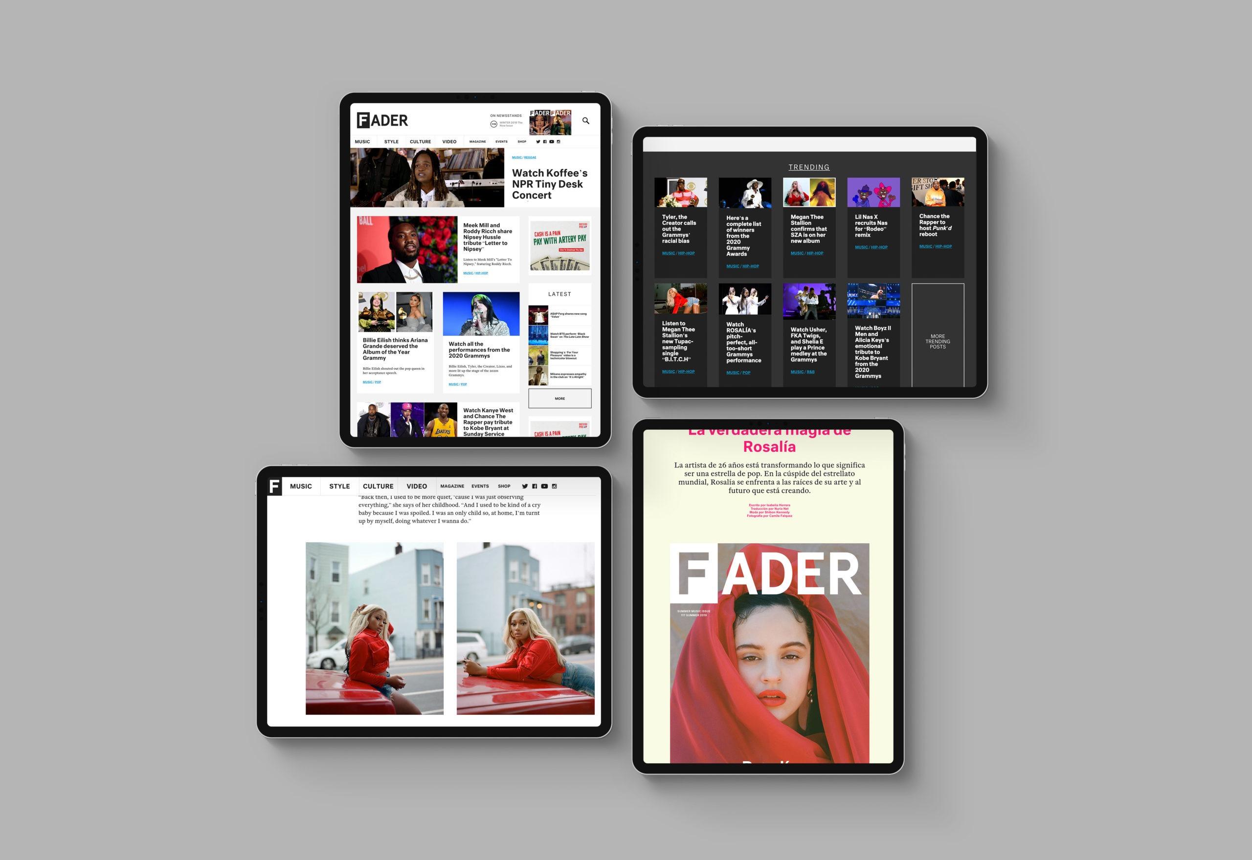 FADER-web